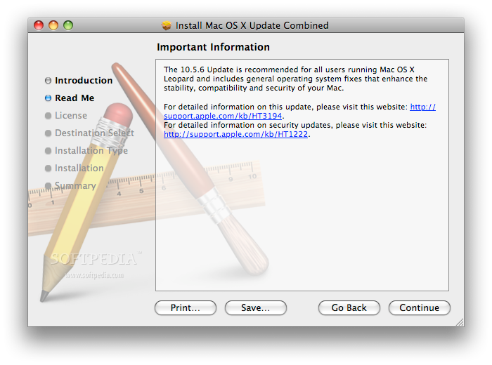 mac os x 10.5 update combo