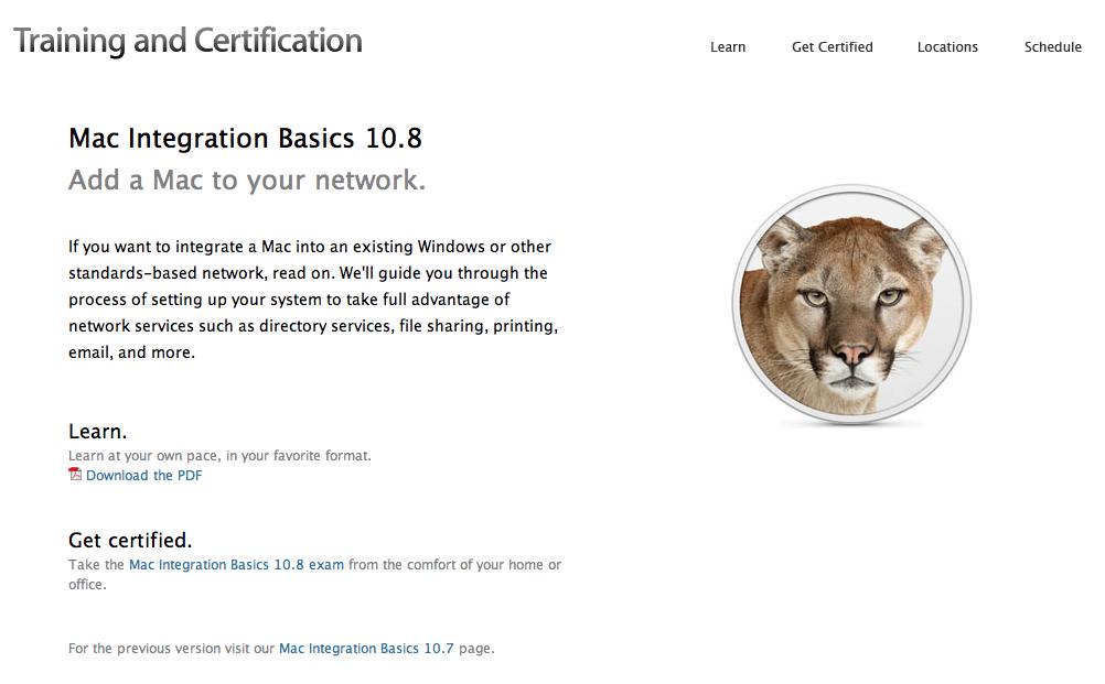 Apple Releases Mac Integration Basics For Os X 108