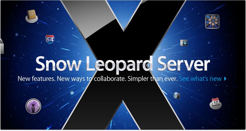 apple releases mail services update 1 0 for snow leopard server rh news softpedia com snow leopard server admin guide Server Wallpaper