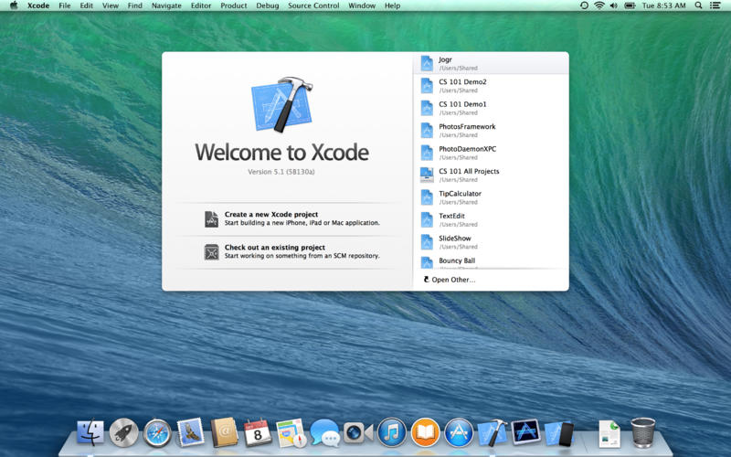 Apple Releases Xcode 5 1 as Free Download in the Mac App Store