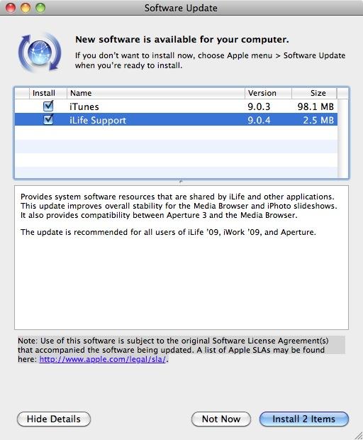Media browser not updating