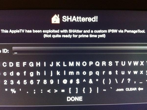 Apple TV 2 Officially Jailbroken via SHAtter Custom IPSW  Apps Coming