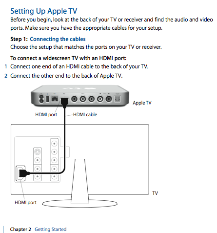 apple tv service & support