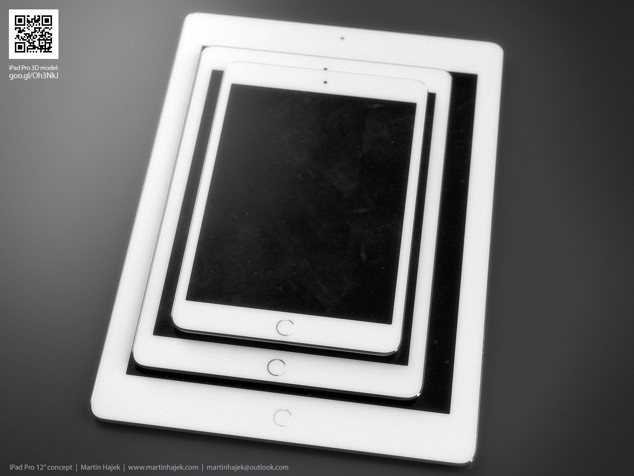 Apples 129 inch ipad pro might come with usb 30 port fast ipad pro compared to current ipad models concept ipad models stacked against one another jeuxipadfo Images