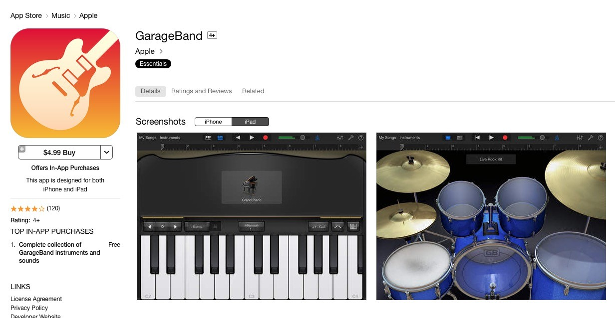 how to set up mbox with garageband