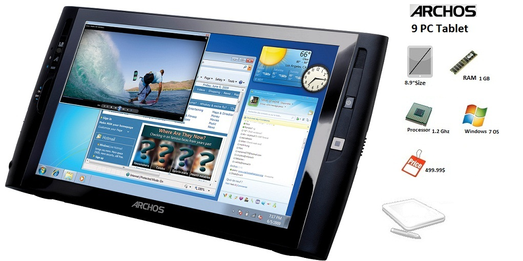 Driver UPDATE: ARCHOS 9 PC Tablet