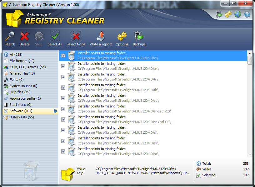 Can you still buy Ashampoo Registry Cleaner software?