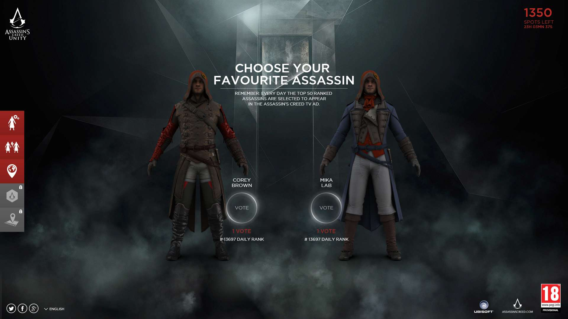 Assassin S Creed Unity Character Customization Minigame