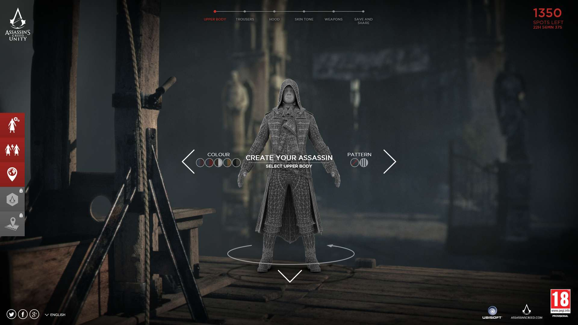 Assassin S Creed Unity Character Customization Minigame Hints At