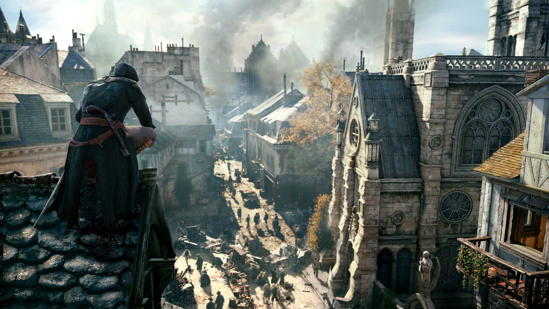 Assassin S Creed Unity Gets More Details From Comic Con 2014