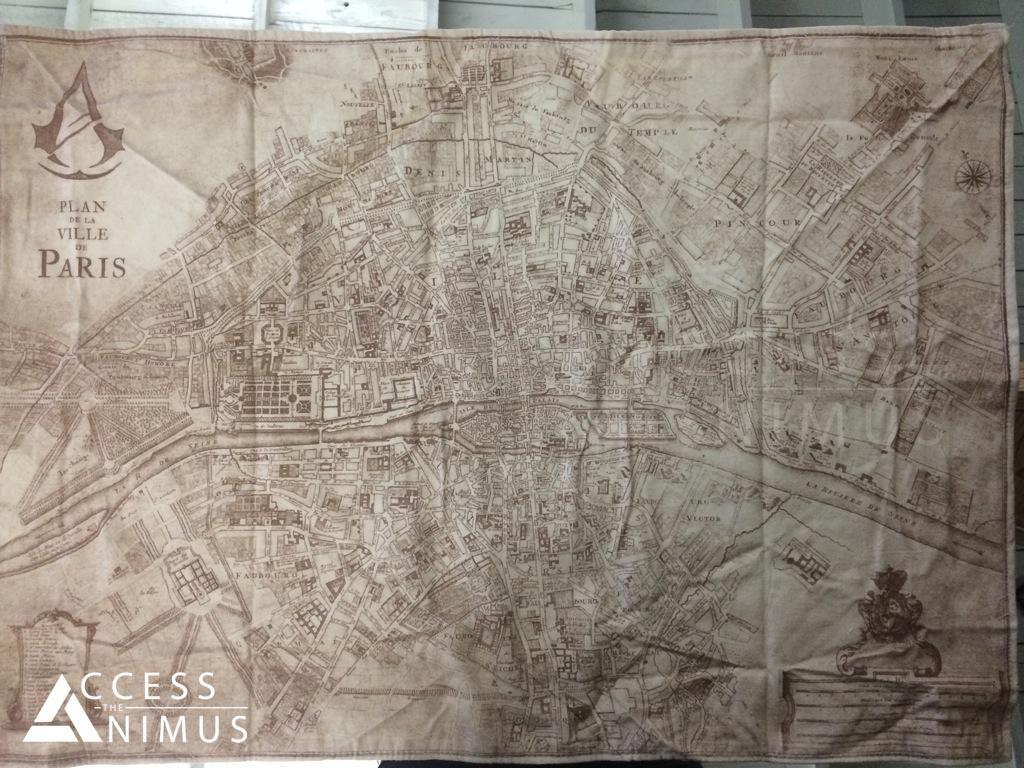 Assassin S Creed Unity Leaked Map Of Paris Is Massive Report