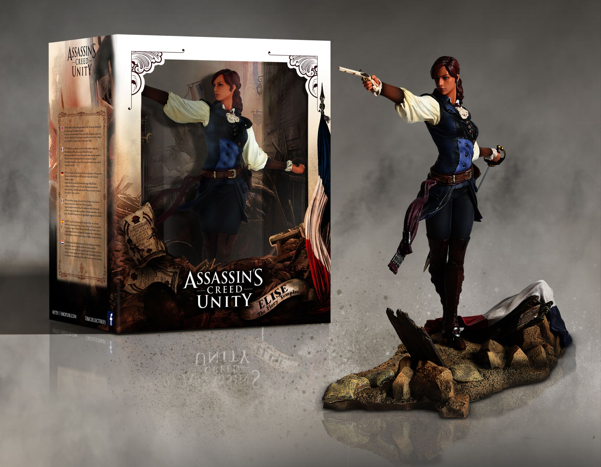 Assassin S Creed Unity Reveals New Templar Elise In Story Driven