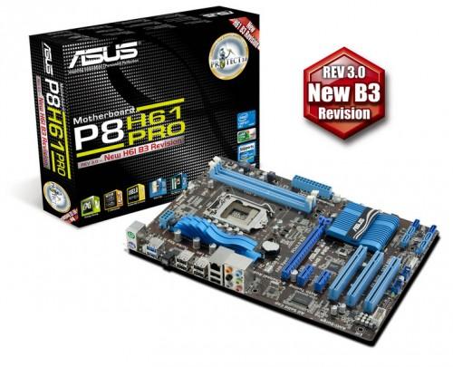 Asus Announces 7 New Intel H61 LGA 1155 Motherboards