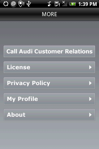 Audi Roadside App for Android Phones Available for Download