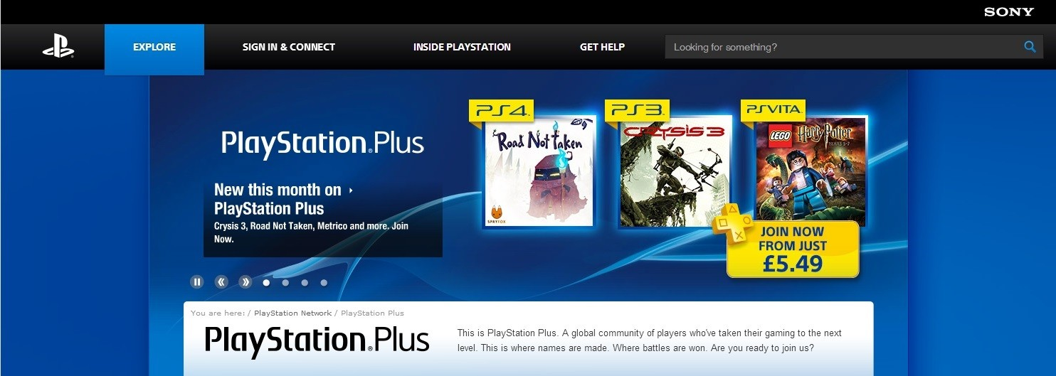 PSPlus Games for August Leaked: Road Not Taken, Crysis 3, Lego Harry Potter