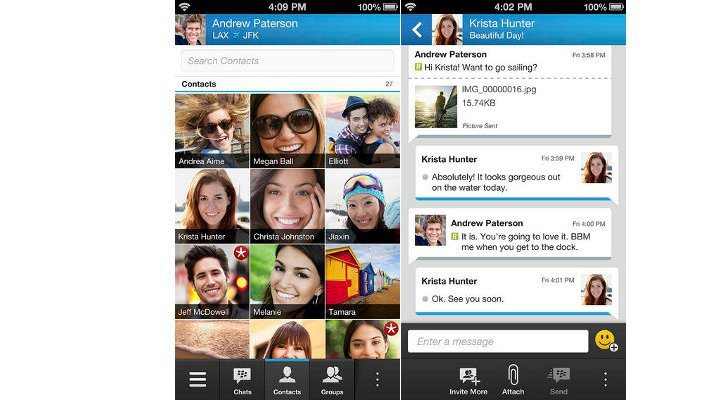 BBM for iOS Now Available for Download