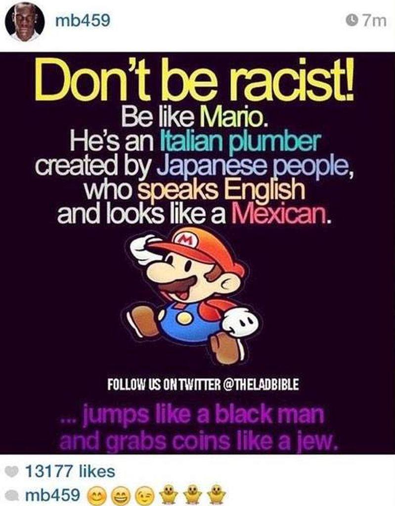 Balotelli S Racist Tweet Featured Classic Super Mario Joke