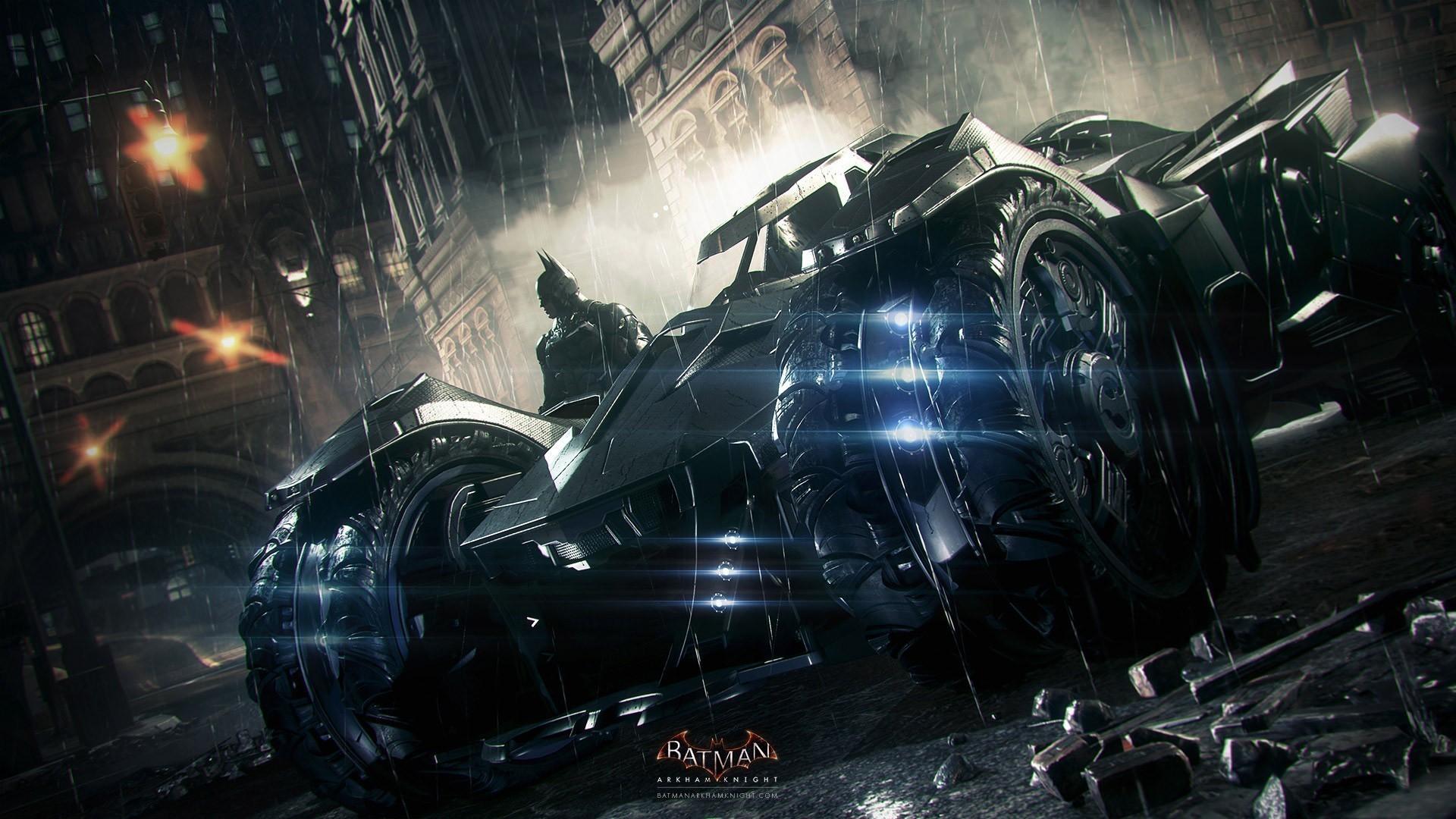Batman Arkham City Will Have The Batmobile