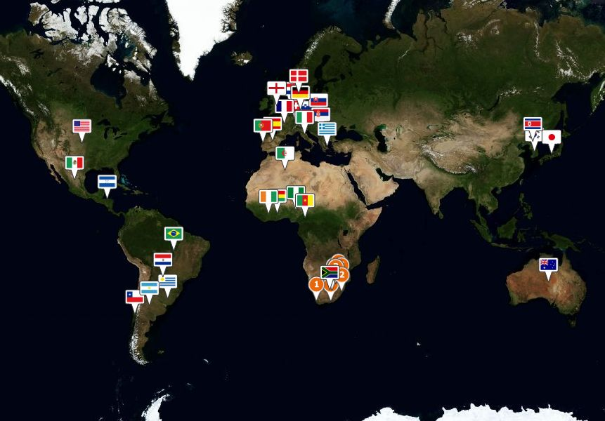 Bing maps 2010 fifa world cup application world cup map app in bing maps gumiabroncs Images