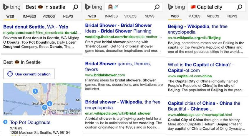 Find The Emoji Wedding.Bing Rolls Out Emoji Support For Mobile Users