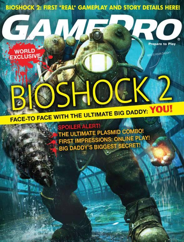 Bioshock 2 S New Big Daddy Revealed By Gamepro