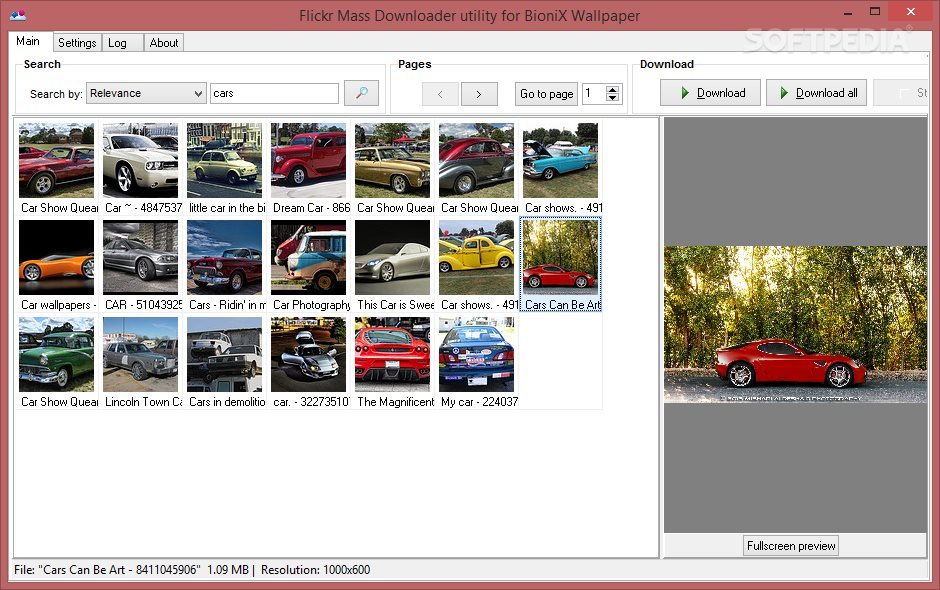 You May Download Batch Images From Flickr