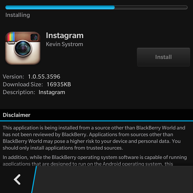 BlackBerry 10 2 1 Allows Direct APK Installs, Has No Google Play Support