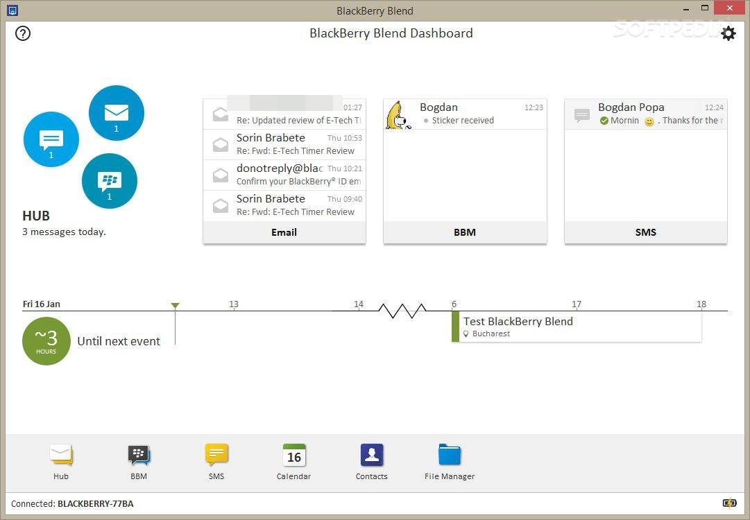 blackberry blend software download for windows 7