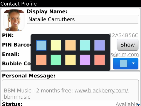 Blackberry messenger (bbm) 6. 2. 0. 24 available for download in beta.