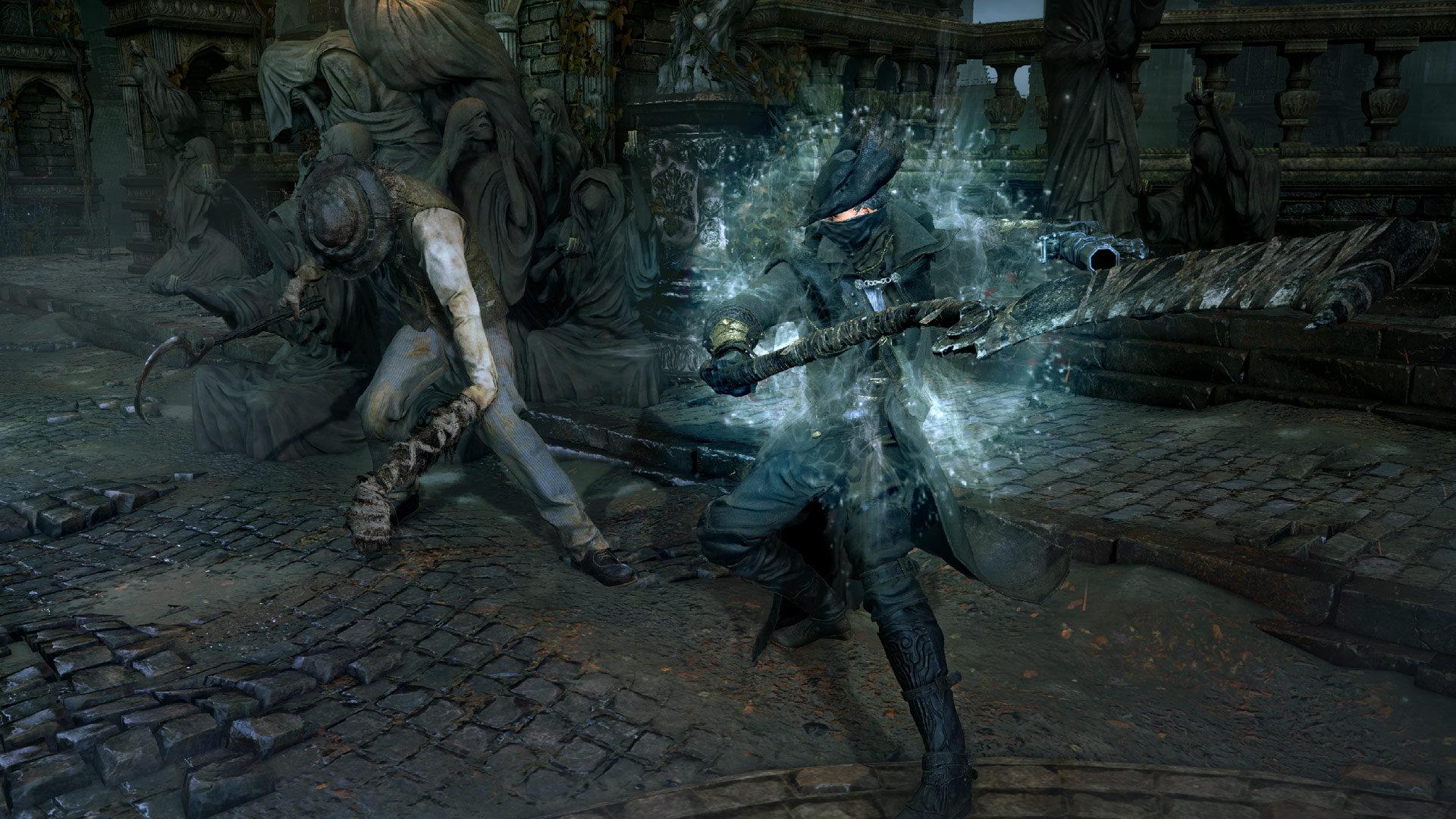 Bloodborne Includes Shields but Discourages Passive Battles