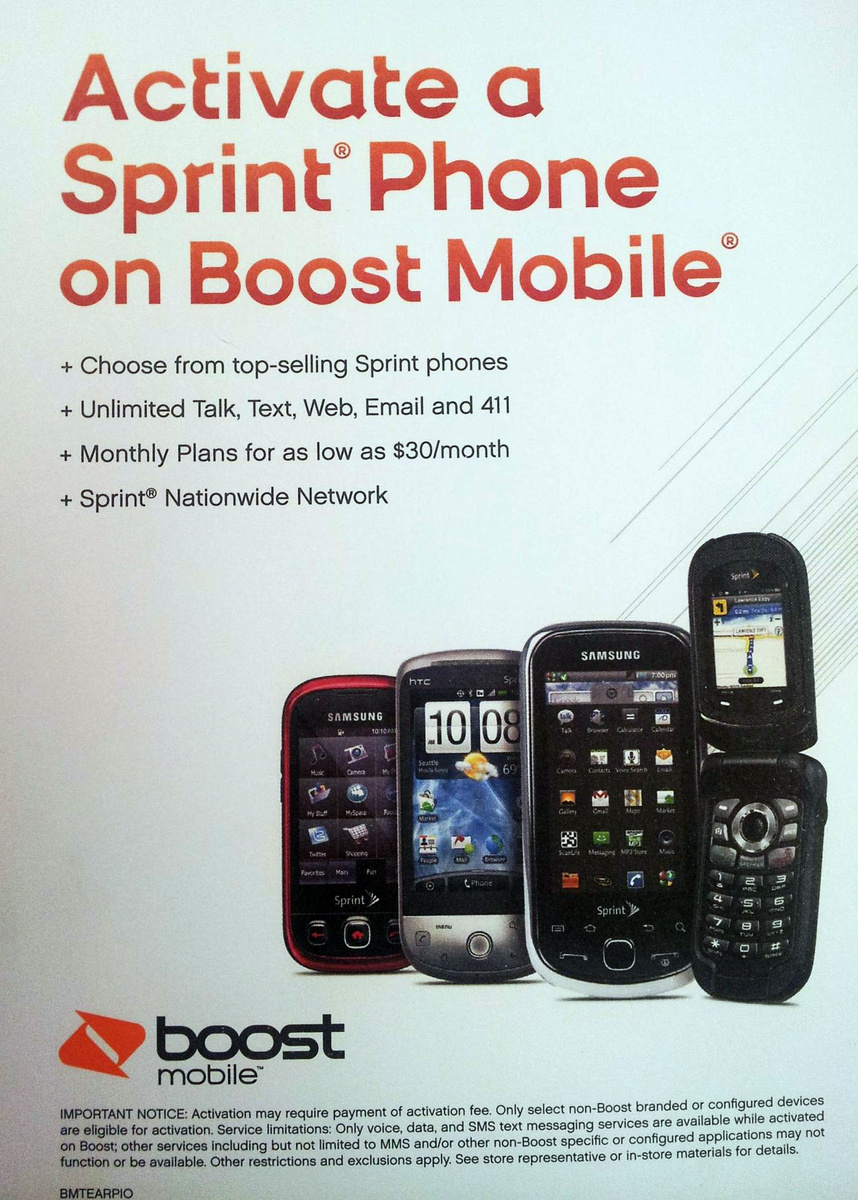 Boost Mobile to Offer Activation for Sprint Phones Soon