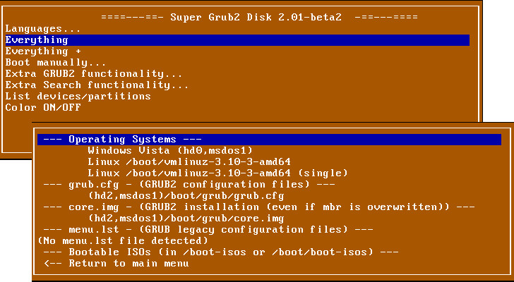 Boot in Any System That Lost Its Bootloader with Super Grub2 Disk