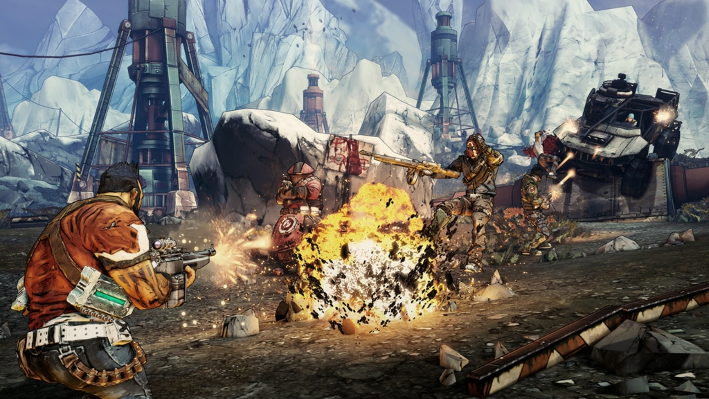 Borderlands 2 Mixes Focus on Skills and Loot System
