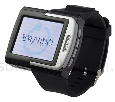 Brando Gets Into Serious Stuff, Launches Cool MP4 WristWatch!