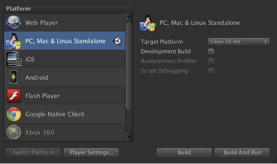 Build Games for Ubuntu with Unity 4 0