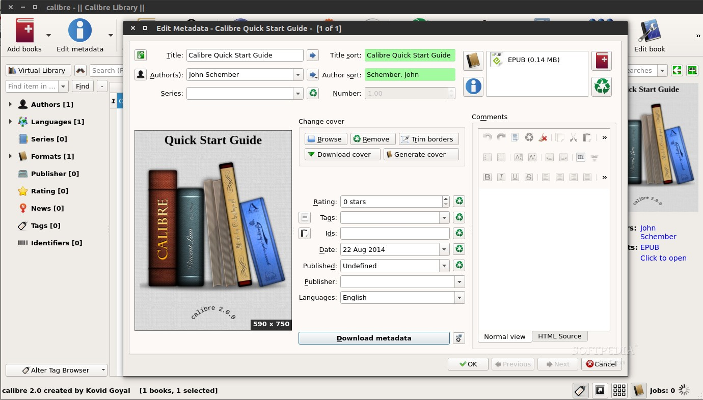 Calibre eBook Reader and Editor 2 0 Massive Update Arrives in Force