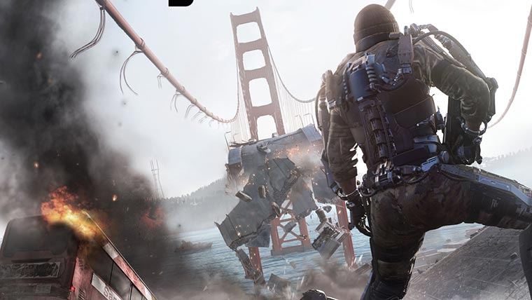 Call Of Duty Advanced Warfare Gameplay Video Highlights Multiplayer Features