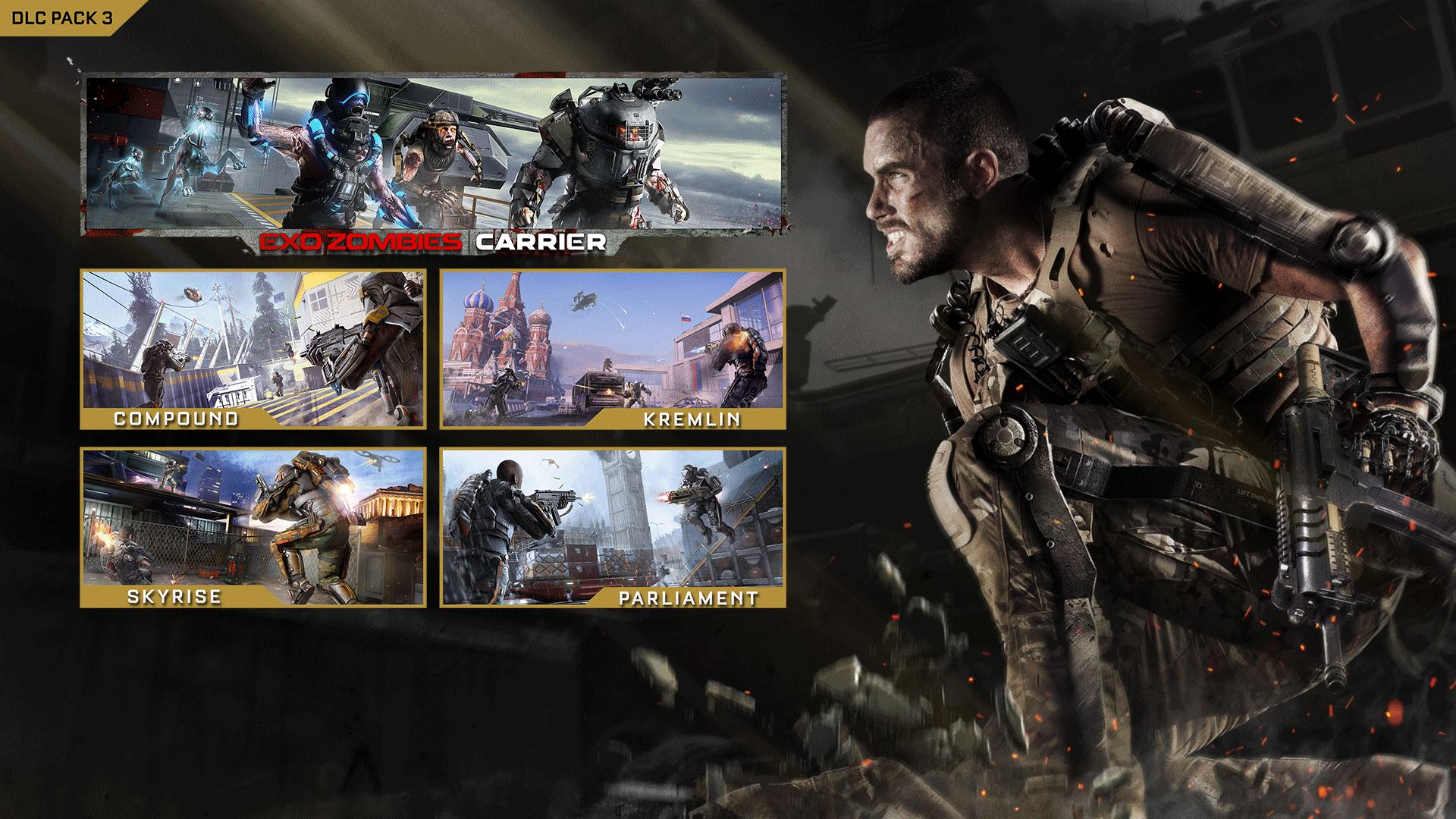 Call of Duty: Advanced Warfare Supremacy DLC Review (Xbox One) Call Of Duty Advanced Warfare New Map Pack on