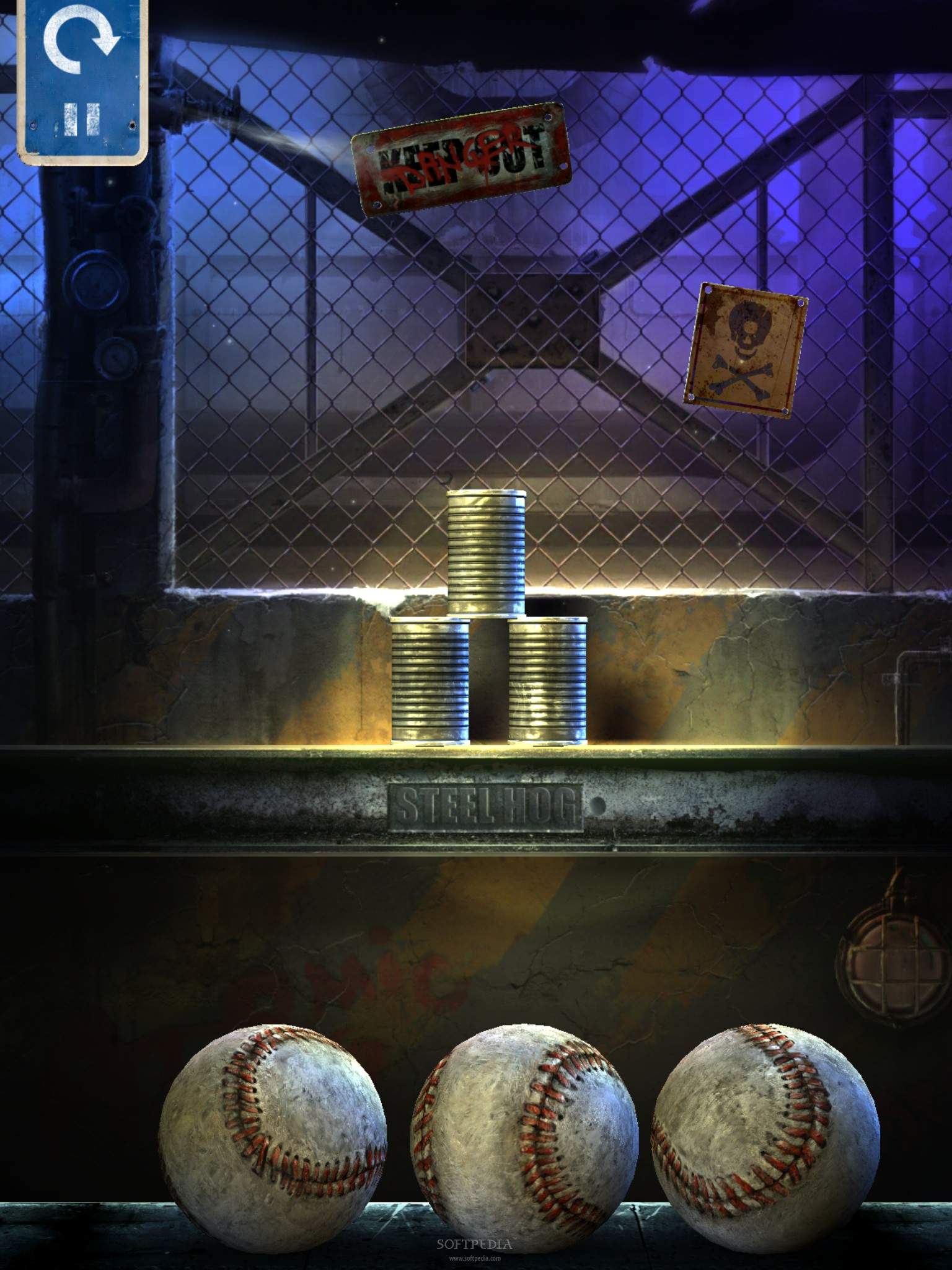 can knockdown game