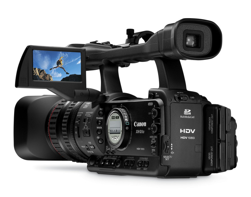 Canon Introduces XH A1S and XH G1S HD Prosumer Camcorders