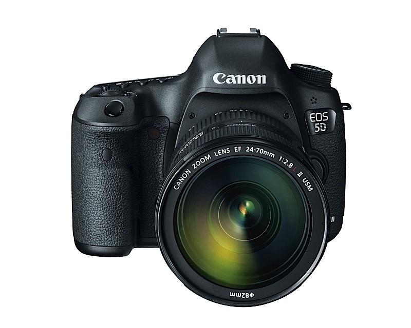 Canon Intros EOS 5D Mark III DSLR with 22.3 MP Full-Frame Sensor