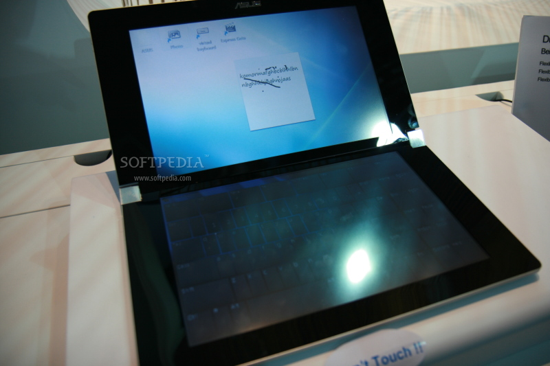 CeBIT 2009: Dual-Screen Laptop Concept from ASUS Looks Cool