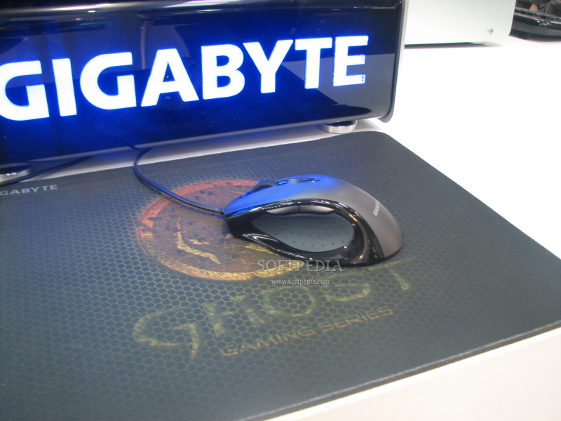 CeBIT 2009 Gigabyte Shows Off Its Gaming Peripherals