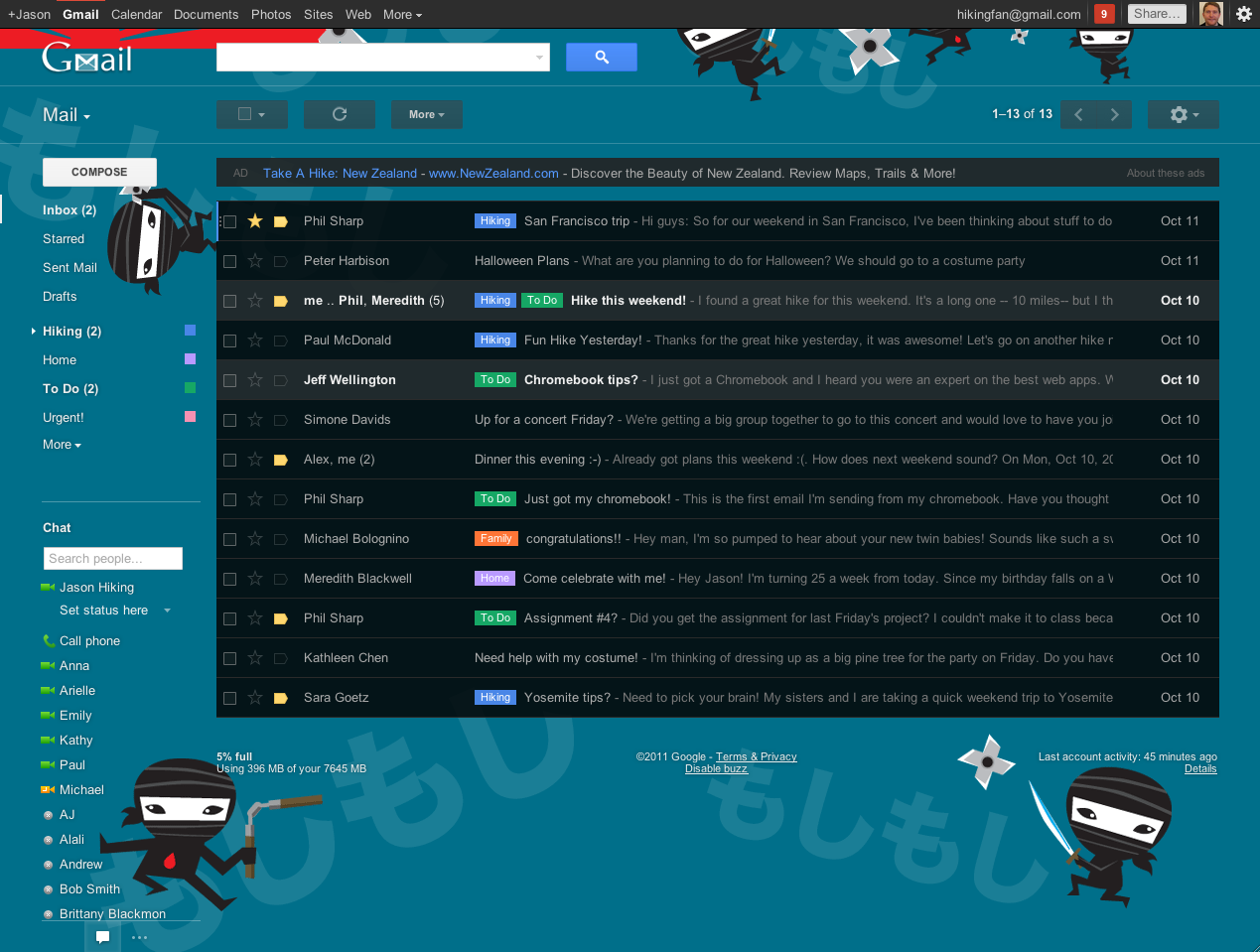 Check Out Some of the New Gmail HD Themes and Find Out How They\u0027re Made