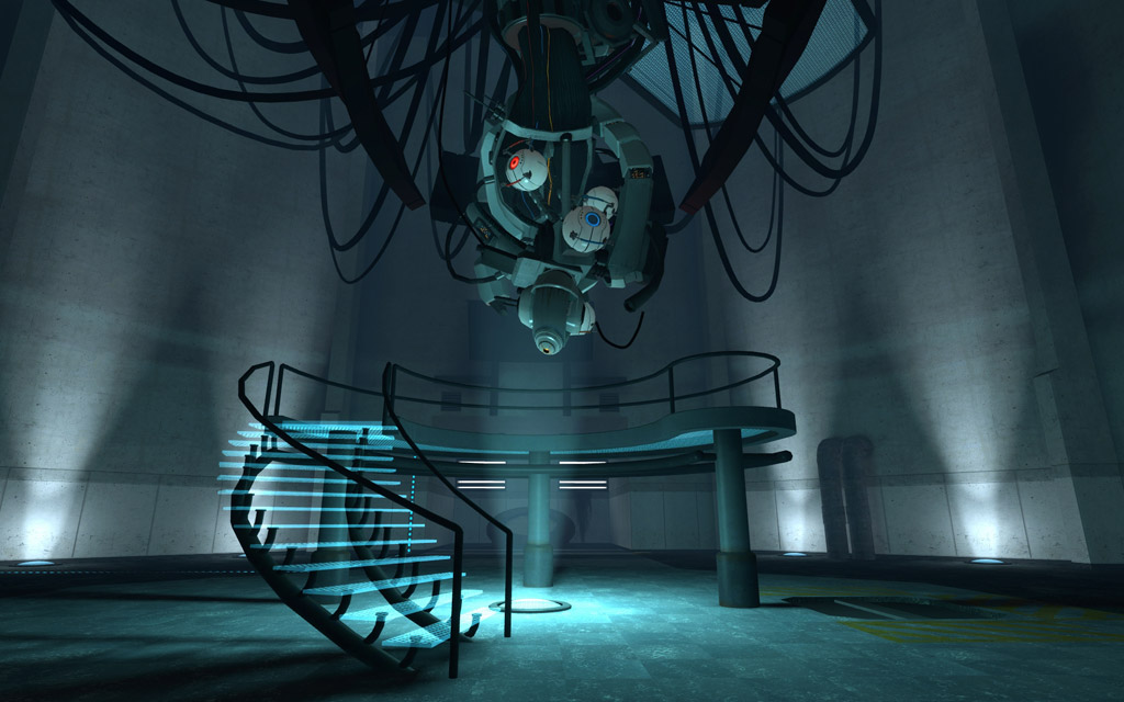 Chell And Glados Face Off Again In Portal 2