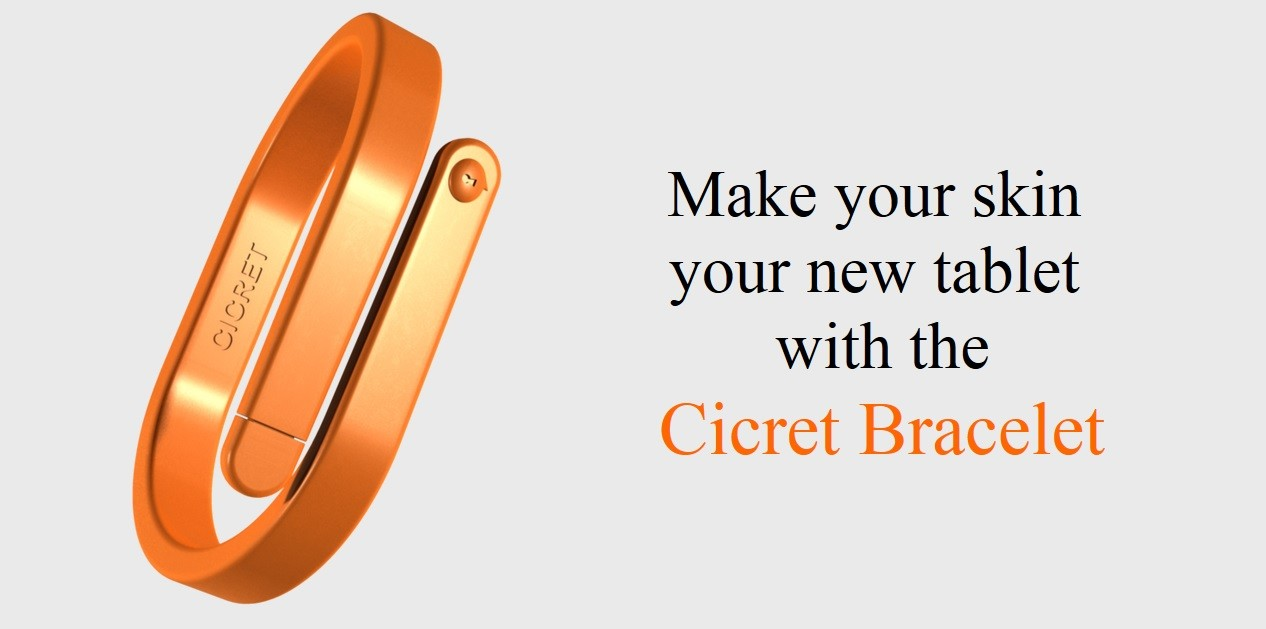 Cicret Bracelet Wants To Turn Your Skin Into A Tablet
