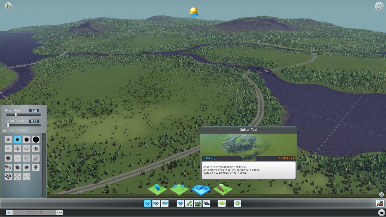 Cities skylines dev diary details the intricacies of the map editor select a layout interesting terrain gumiabroncs Gallery