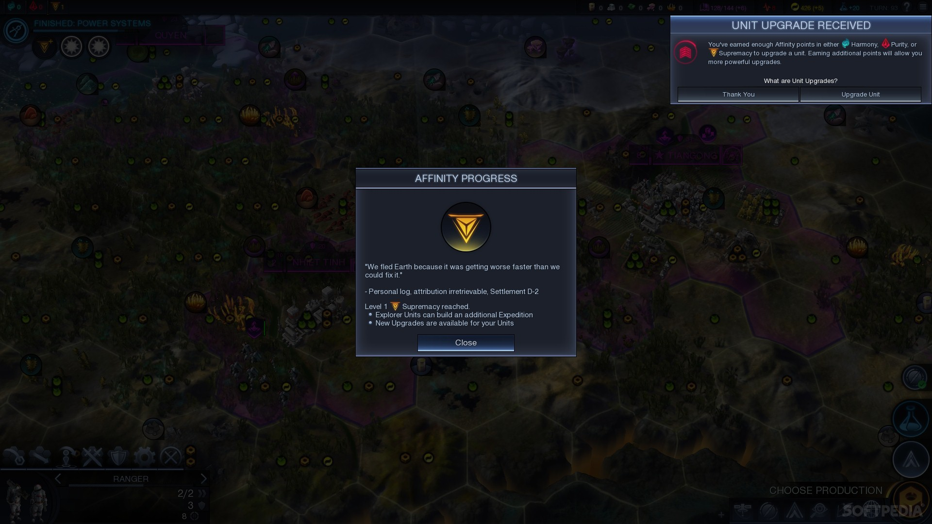 Civilization: Beyond Earth's First Update Detailed, Fixes