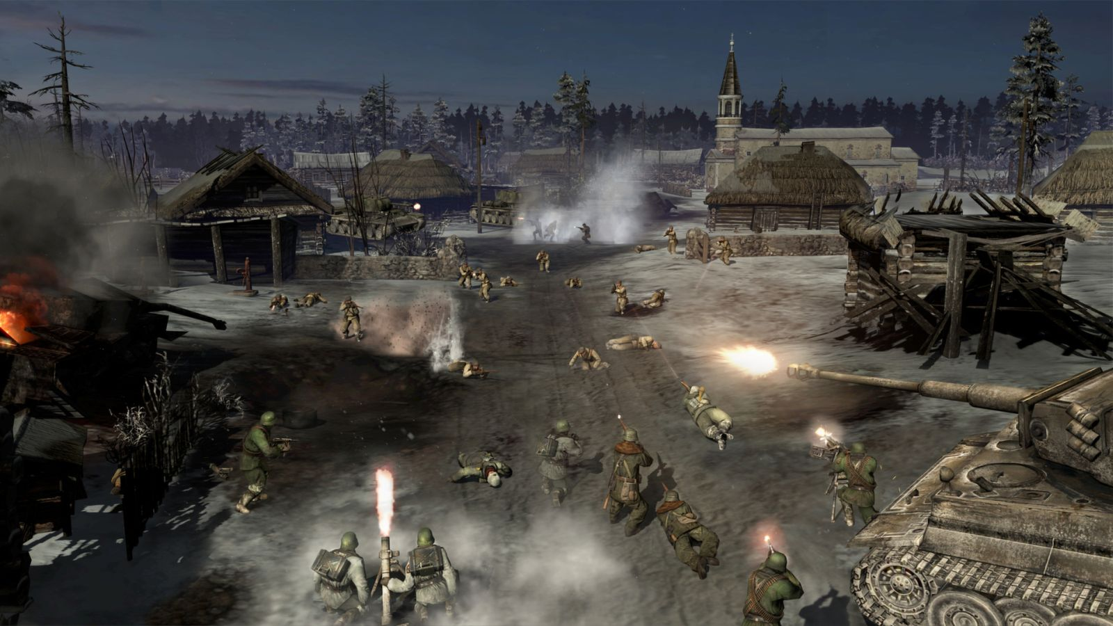 company of heroes 2 campaign length