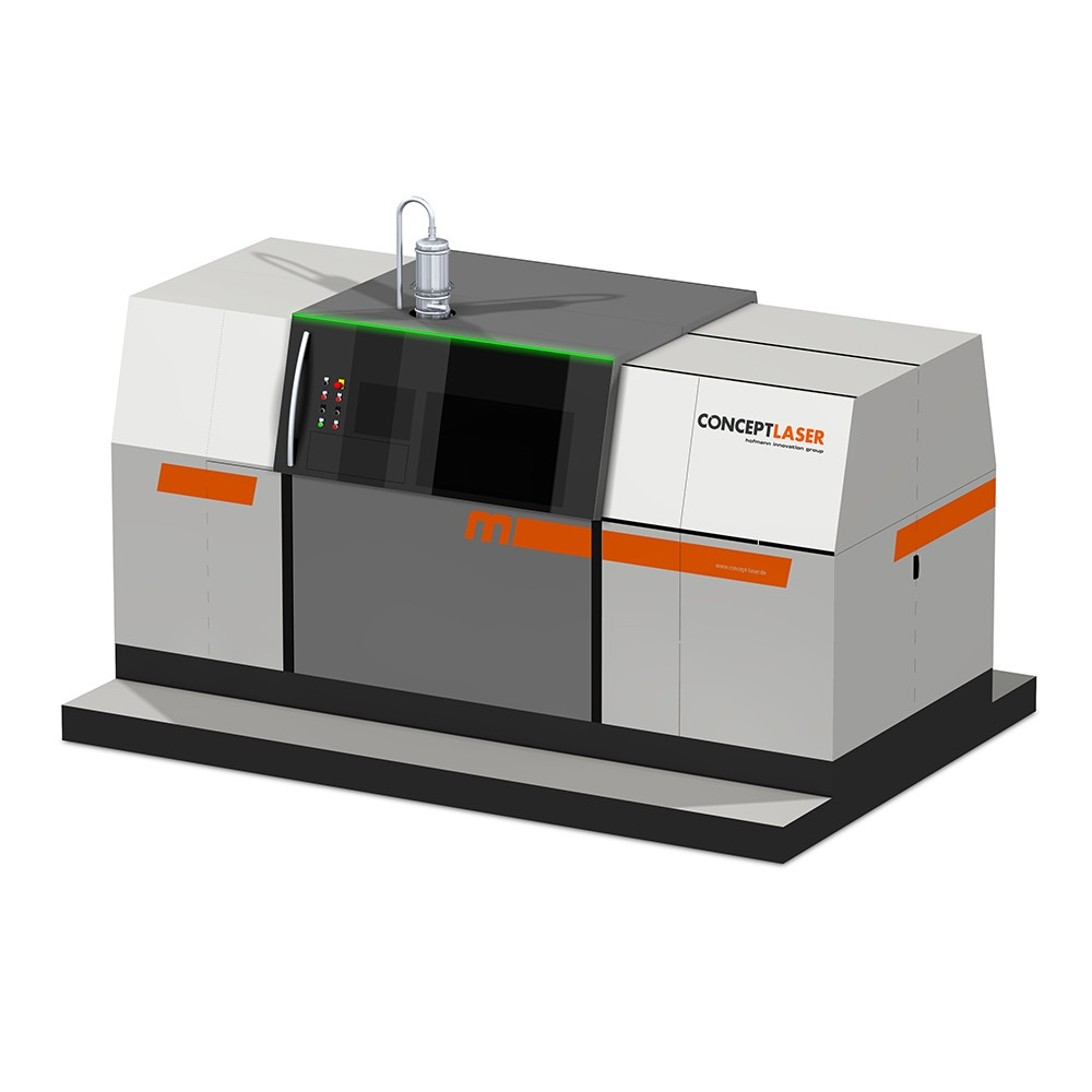 Concept Laser Gets Materialise To Help With 3D Metal Printers